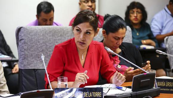 Milagros Salazar presentó su proyecto el 4 de marzo pasado. Fue derivado a las comisiones de Constitución y Justicia. (Foto: Congreso)