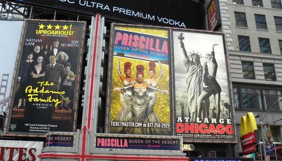 Broadway extiende dos meses su clausura por el COVID-19 y reabrirá en junio. (Foto: EFE)