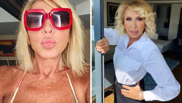 La conductora de televisión Laura Bozzo señaló que hace aeróbicos, pesas, yoga y pilates los fines de semana. (@laurabozzo_of).