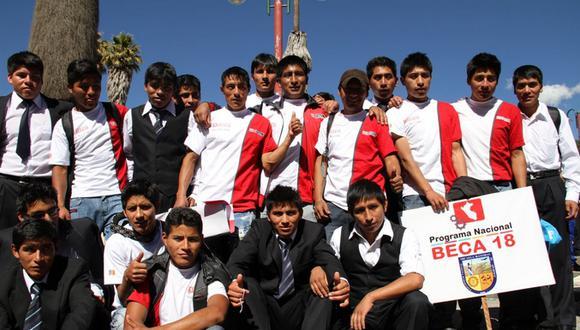 Beca 18: Unos 1500 jóvenes terminarán sus carreras este año