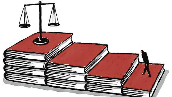 """""""¿Qué esperamos los jueces de la Junta Nacional de Justicia (JNJ)? Lo mismo que los casi 14 millones de electores que aprobaron su creación: objetividad y probidad"""". (Ilustración: Víctor Aguilar)"""