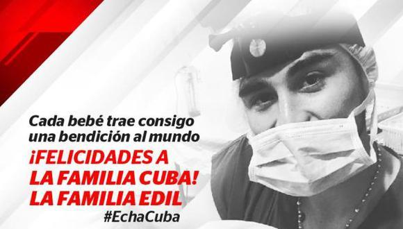 La felicitación del Municipal a Rodrigo Cuba, su lateral. (Foto: Facebook)
