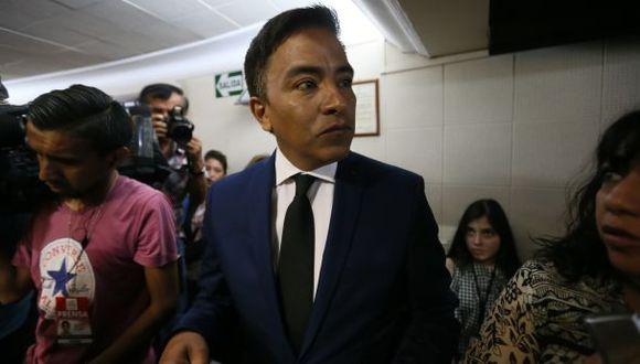 Roberto Vieira dice que Keiko Fujimori lo ha decepcionado