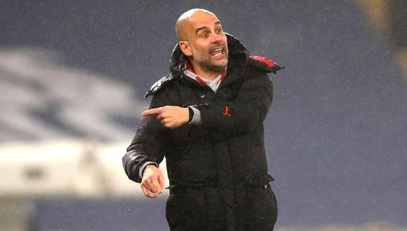 Pep Guardiola pone en la mira a Lukaku y Haaland para la próxima temporada. (Foto: AFP)