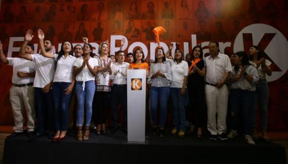 Fuerza Popular estará presente en el Congreso 2020-2021. (Jesús Saucedo-GEC)