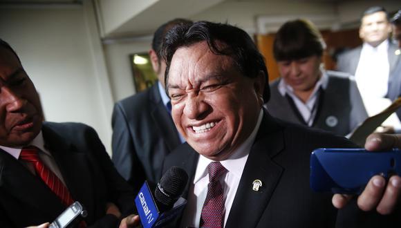 José Luna Gálvez busca volver al Congreso con las elecciones del 11 de abril del 2021. (Foto: GEC)