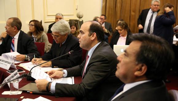 El jefe del Consejo de Ministros se viene presentando en la Comisión de Defensa Nacional. (Foto: Congreso de la República)