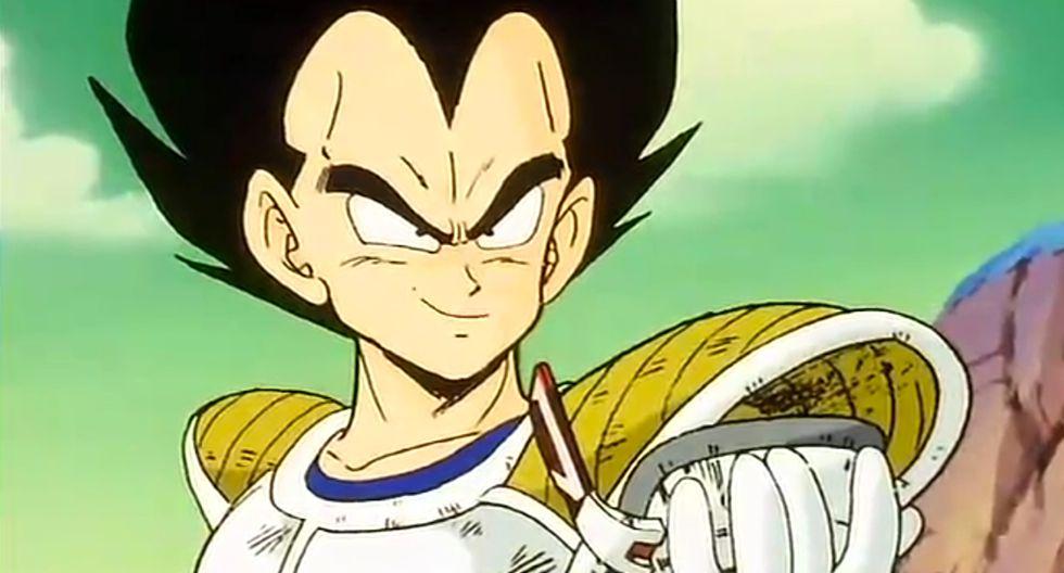 Vegeta apareció por primera vez en el anime con una forma completamente distinta a la actual (Foto: Toei Animation)