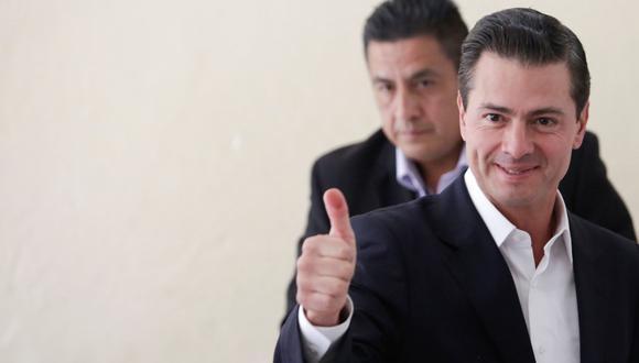 """""""Los mexicanos le deseamos una gestión exitosa en beneficio de nuestro país"""", dijo el actual mandatario de México, Enrique Peña Nieto, a su virtual sucesor Andrés Manuel López Obrador"""