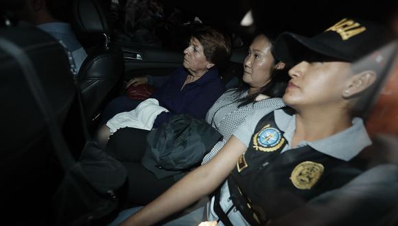 Keiko Fujimori fue detenida de forma preliminar la mañana del miércoles 10 de octubre. (Foto: USI)