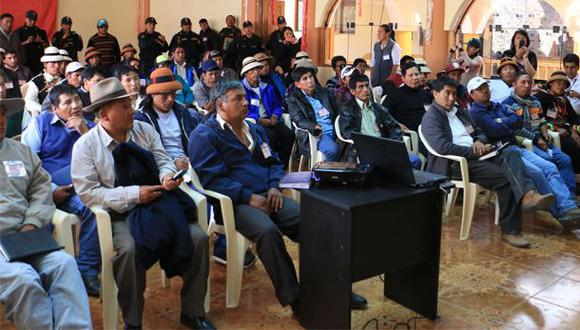 Las Bambas: solicitan reprogramar los talleres informativos