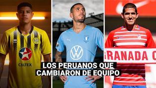 Selección peruana: estos son los futbolistas que cambiaron de equipo tras la Copa América
