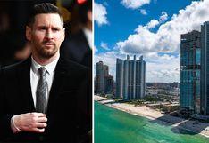 El espectacular departamento de lujo de Lionel Messi en Miami | FOTOS