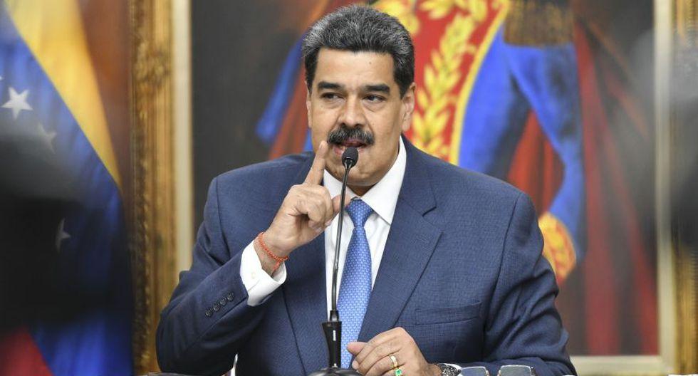 Nicolás Maduro, presidente de Venezuela, durante una conferencia de prensa en el Palacio de Miraflores en Caracas. (Foto: Bloomberg).