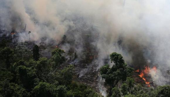 El Instituto Nacional de Investigaciones Espaciales (INPE) de Brasil detectó más de 72.800 focos de incendios en la región en lo que va de año. Foto: Reuters