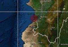 Tumbes: sismo de magnitud 4 se registró esta madrugada, informó el IGP