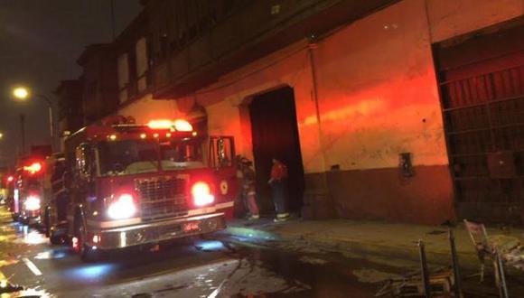 Rímac: Incendio en casona fue controlado por 9 unidades