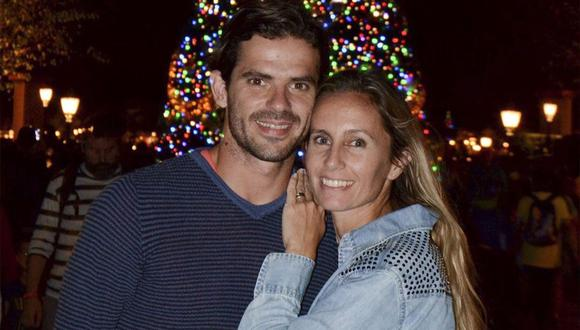 Fernando Gago y Gisela Dulko llevaban diez años de matrimonio.