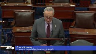 Juicio político de Trump comenzará la semana del 8 de febrero, dice líder del Senado