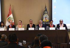 Presidente del PJ: Nuestros esfuerzos carecen de sentido si no logramos reconciliarnos con la ciudadanía