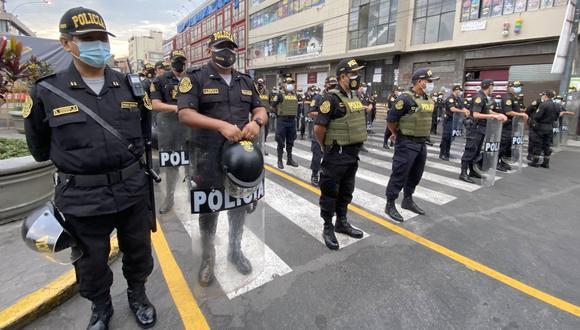 Candidatos proponen sobre todo fortalecer a la Policía Nacional del Perú (PNP) para que pueda efectuar su labor. (Foto: Mininter)