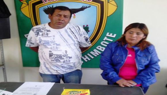 Chimbote: pareja llevaba cocaína a Huaraz en caja de golosinas