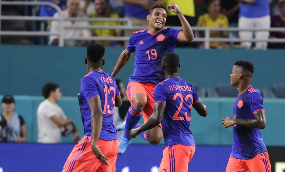 Colombia vs. Brasil EN VIVO: Luis Muriel culminó con éxito un contragolpe para el 2-1 en Miami | Foto: AP