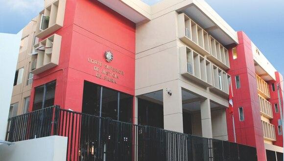 La División de la Policía Judicial de Piura funciona en la sede Corte Superior de Justicia de esta región. (Foto: Poder Judicial de Piura)