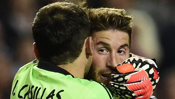 Ramos marcó el 1-1 parcial del encuentro y permitió que Real Madrid encontrara la victoria sobre Atlético en tiempo suplementario. (Foto: AFP)