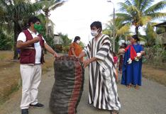 Coronavirus en Perú: donan 15 toneladas de papas para familias vulnerables del Vraem