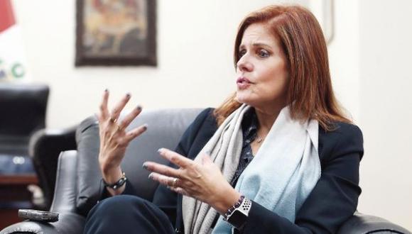 La congresista Mercedes Araoz se mostró a favor de una agenda de gobernabilidad . (Foto: GEC / Video: Canal N)