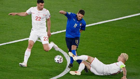 Italia venció a Suiza por la segunda fecha de la Eurocopa | Foto: @Vivo_Azzurro