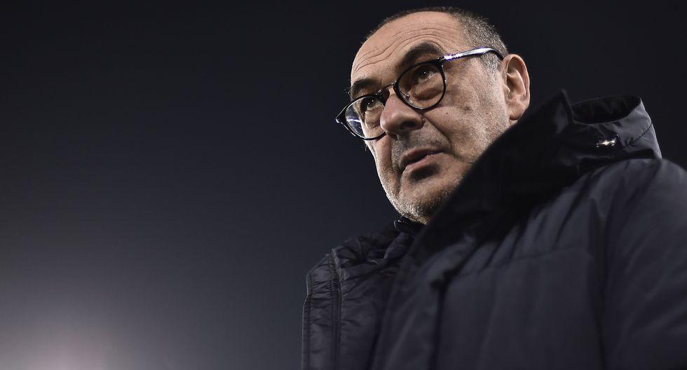 """Maurizio Sarri: """"Es falso que Dybala y Cristiano no puedan jugar juntos"""" [Foto: AFP]"""