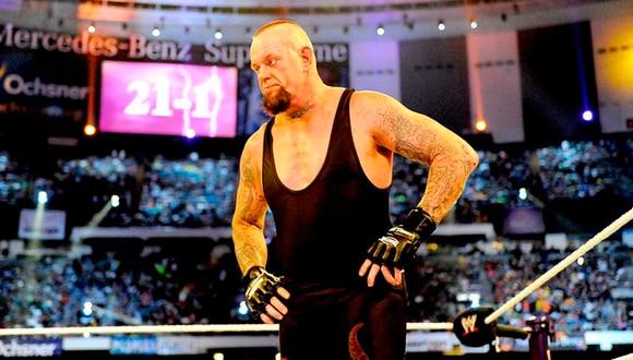 The Undertaker perdió su racha en WrestleMania frente a Brock Lesnar | Foto: WWE