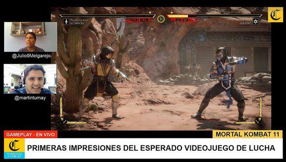 Mortal Kombat 11 tendrá 25 personajes jugables desde su lanzamiento. (Captura de pantalla)