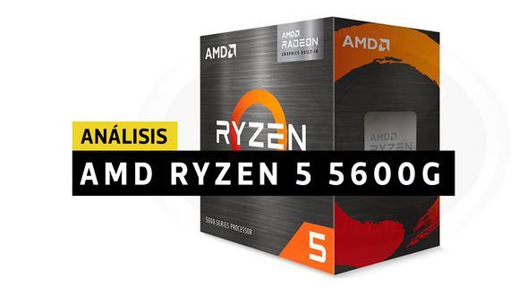 AMD Ryzen 5 5600G. (Imagen: AMD)
