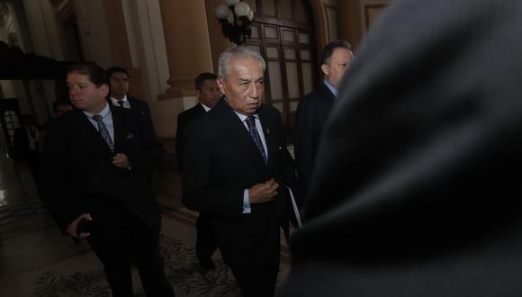 Pedro Chávarry no acudió al Congreso y solicitó la reprogramación de su citación. (Foto: Renzo Salazar / GEC)