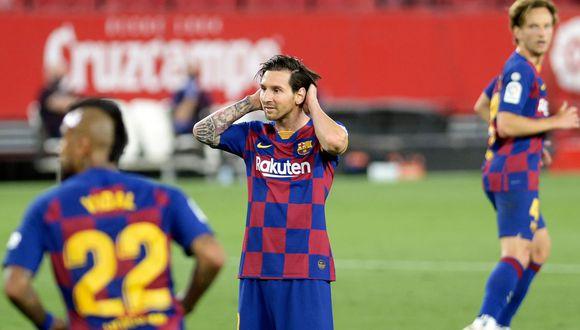 FC Barcelona: la operación que incluiría a Coutinho y Griezmann para evitar que Lionel Messi deje el club   Foto: AFP