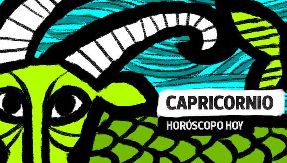 """Capricornio, conoce lo que te deparan las estrellas para hoy lunes 19 de abril del 2021, según el horóscopo del suplemento """"Luces"""". Ilustración: El Comercio."""