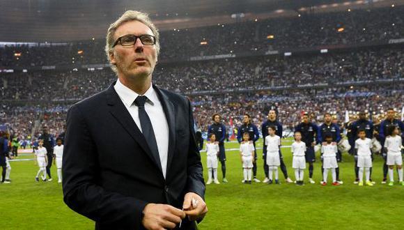 Laurent Blanc rescindió con el PSG por ¡22 millones de euros!