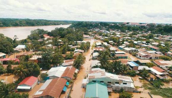 Madre de Dios: 22 instituciones educativas se vieron comprometidos con las inundaciones, de las cuales 8 fueron alcanzados por el desborde del río y 14 quedaron inhabitables. (Foto: GEC)