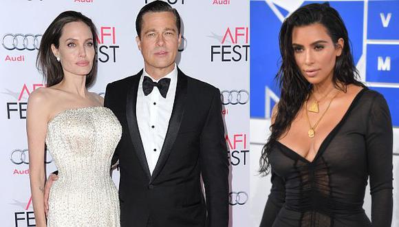 Fin de Brangelina remece la web pero no iguala a Kim Kardashian