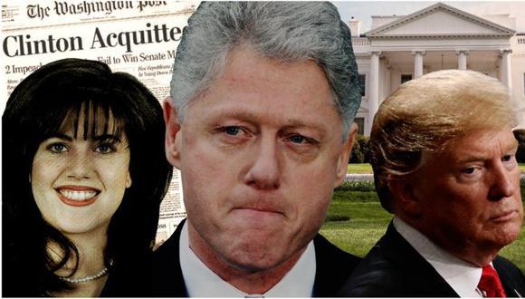 Por qué el escándalo sexual de Bill Clinton hizo más fácil la elección de Donald Trump. Foto: Getty images, vía BBC Mundo