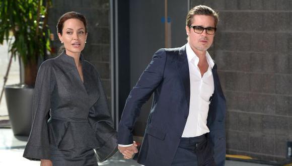 Angelina Jolie y Brad Pitt se casaron el sábado en Francia
