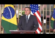 """Elecciones USA: Bolsonaro confía en asistir a la """"nueva investidura"""" de Trump"""