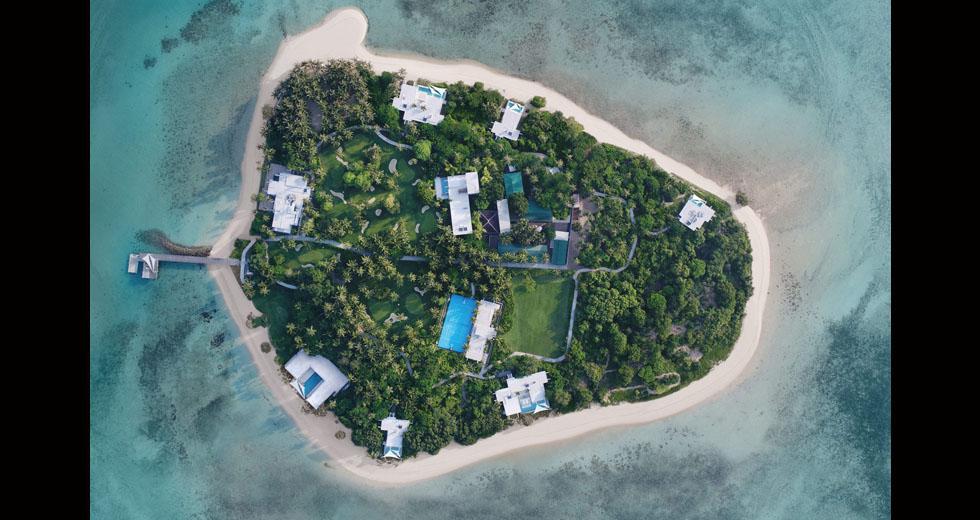 El resort Banwa Private Island se extiende en 60.000 m².(Foto: Banwa Private Island)