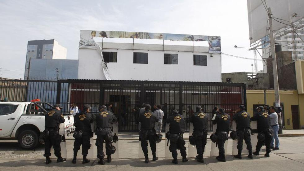 Oropeza: allanan inmueble donde habría documentación de empresa - 1