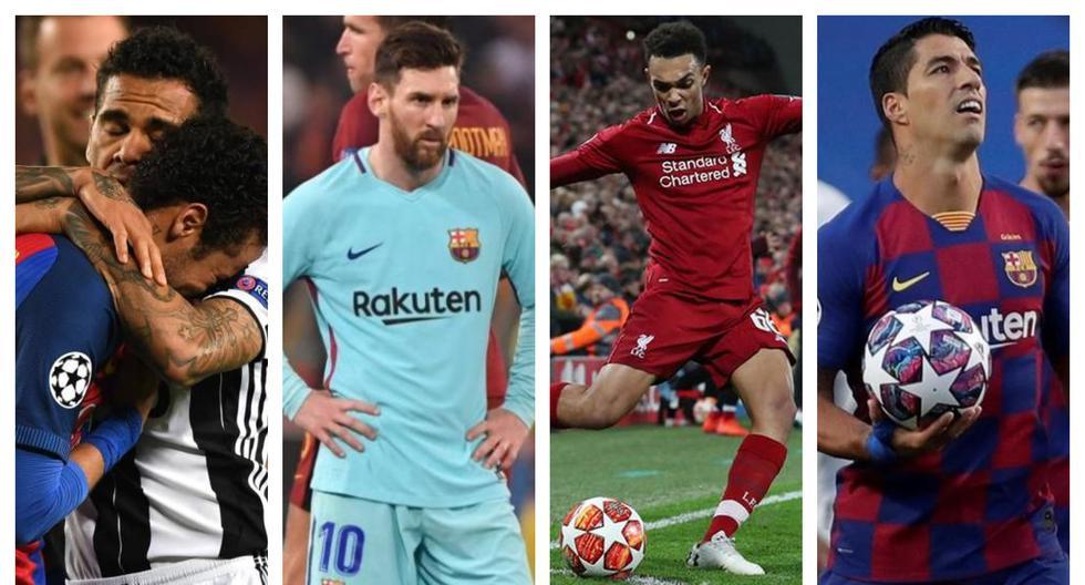 Barcelona en los últimos cuatro años (AFP/EFE)