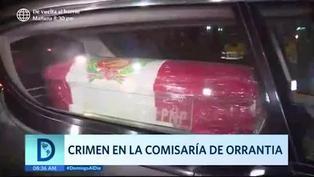 Tragedia en la comisaría de Orrantia