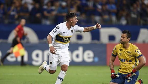 Boca Juniors igualó 1-1 en su visita a Cruzeiro y clasificó a las semifinales de la Copa Libertadores. En dicha instancia, los 'xeneizes' enfrentará a Palmeiras   Foto: AFP
